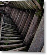 Vertigo - Stairs To The Unknown Metal Print