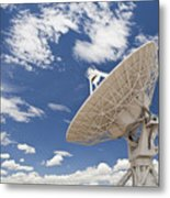 Very Large Array Antenna Metal Print by Bryan Mullennix