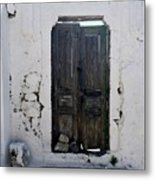 Very Old Door Metal Print