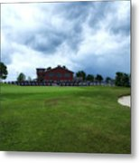 Vesper Hills Golf Club Tully New York Before The Storm Metal Print
