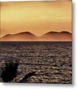 vest i Vlora. Sazan Island Metal Print