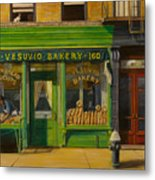 Vesuvio Bakery In New York City Metal Print