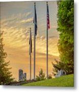 Veteran's Memorial Park Metal Print