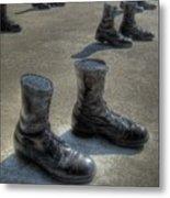 Veteran's Memorial Walk Metal Print