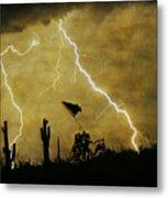 Desert Storm Metal Print