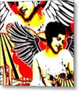 Vexed Angel Metal Print