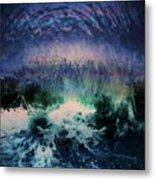 Vibes Of Summer - Series 9 Metal Print