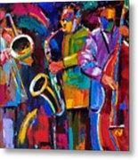 Vibrant Jazz Metal Print