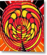 Vibrant Reds Metal Print