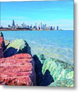 Vibrant Summer Vibes Metal Print