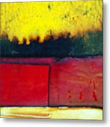Vibrant Wall Colors Metal Print by Ray Laskowitz - Printscapes