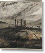 Victor Hugo   Gallows Of Montfaucon   1847 Metal Print