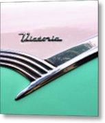 Victoria - 1956 Ford Metal Print