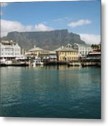Victoria And Alfred Waterfront Metal Print