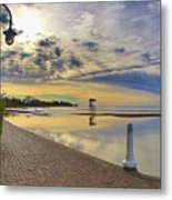 Victoria Beach Early Morning  Metal Print