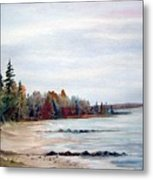 Victoria Beach In Manitoba Metal Print