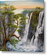 Victoria Falls Zimbabwe  Metal Print