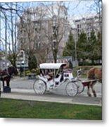 Victoria Horse Carriages Metal Print