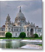Victoria Memorial Hall Calcutta Kolkata Metal Print