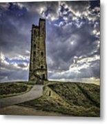 Victoria Tower Castle Hill Huddersfield 2 Metal Print