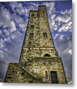 Victoria Tower Castle Hill Huddersfield 4 Metal Print