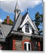 Victorian At The Old Soldiers Home Metal Print