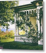 Victorian By The Sea Metal Print