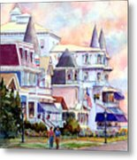 Victorian Cape May New Jersey Metal Print