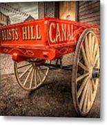 Victorian Cart Metal Print by Adrian Evans