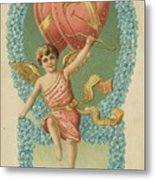 Victorian Cupid Metal Print
