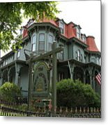 Victorian Guesthouse Metal Print
