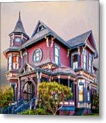 Gingerbread House Metal Print