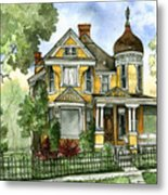 Victorian In The Avenues Metal Print