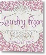 Victorian Laundry Room Metal Print