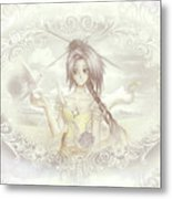 Victorian Princess Altiana Metal Print