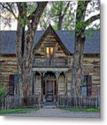 Victorian Sedman House In Montana State Metal Print