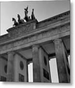 Victory Of Brandenburg Gate Metal Print