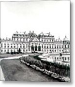 Vienna And The Belvedere Metal Print
