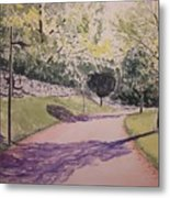 Vienna In Summer Metal Print