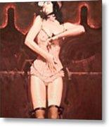 Vienna Le Rouge 3 Metal Print