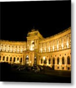 Vienna National Library Metal Print