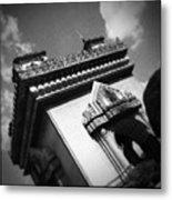 Vientiane Arch Metal Print