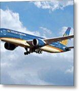 Vietnam Airlines Boeing 787 Dreamliner Metal Print
