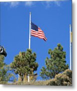 Vietnam Memorial Angel Fire New Mexico Metal Print