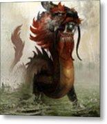 Vietnamese Dragon Metal Print