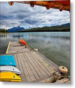 View From A Boathouse Metal Print