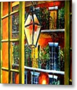 View From A French Quarter Balcony Metal Print