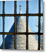 View From A New England Turret Metal Print