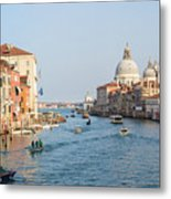 View From Accademia Bridge Metal Print