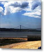 View From Across The Tagus Metal Print